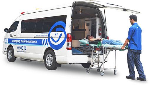 Garda Siaga - Layanan darurat kendaraan bermotor dari Asuransi Astra - Emergency Medical Assistance