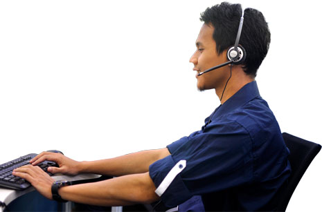 Operator Call Center 24 Jam - Garda Akses