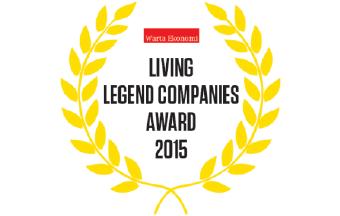 Asuransi Astra - Living Legend Companies Award by Majalah Warta Ekonomi, 2015