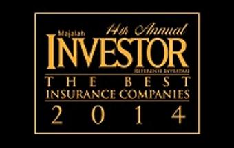 Asuransi Astra - Garda Oto - Asuransi Terbaik 2014 by Majalah Investor, 2014