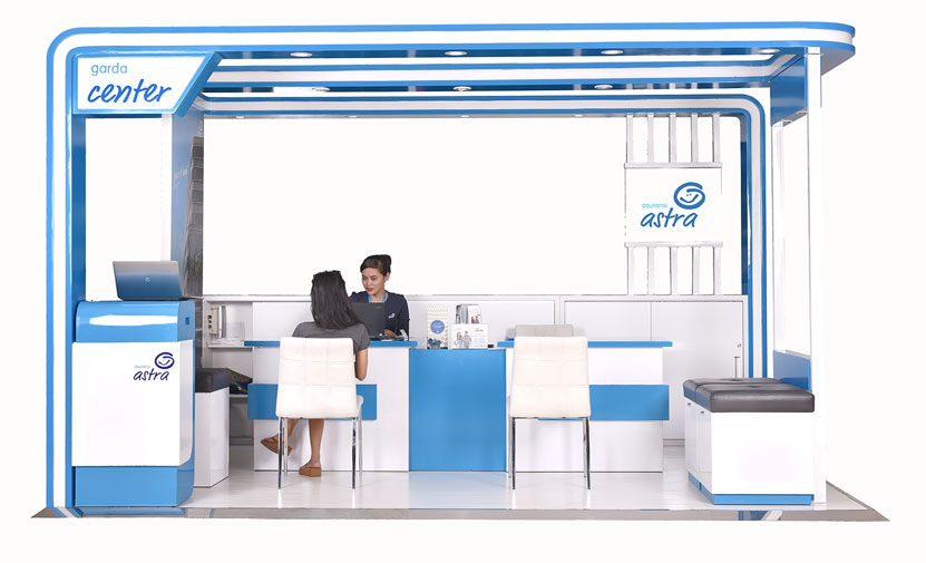 Garda Center - Layanan Service Point dari Asuransi Astra yang beroperasi sesuai dengan jam buka mall di mall - mall ibukota
