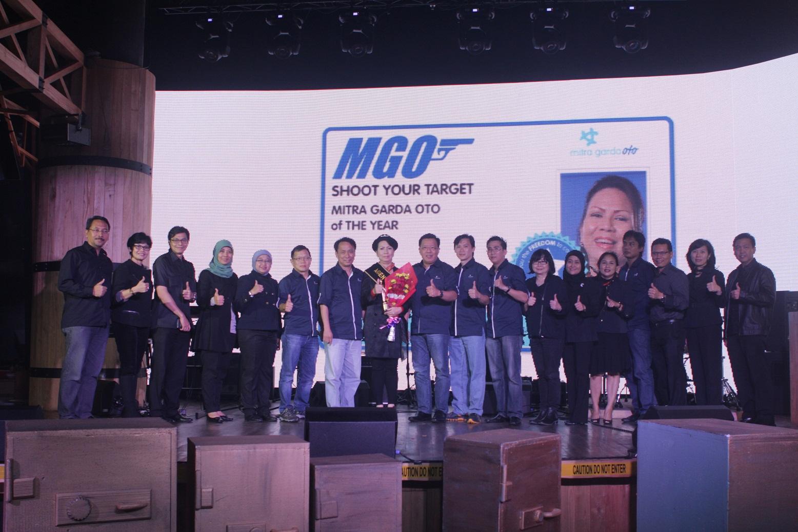 Apresiasi Kinerja Agen Garda Oto Gelar Penghargaan Bagi Para Mitra Garda Oto