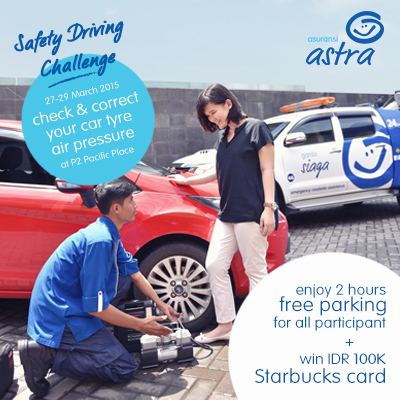 Safey Driving Challenge di Garda Center Pacific Place 27-29 Maret 2015