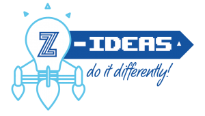 Logo Z-IDEAS : Do It Differently! - Calling All Bright Talents!
