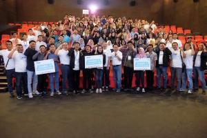 Keseruan rangkaian kegiatan Z-IDEAS di CGV Blitz, Marvell City, Surabaya