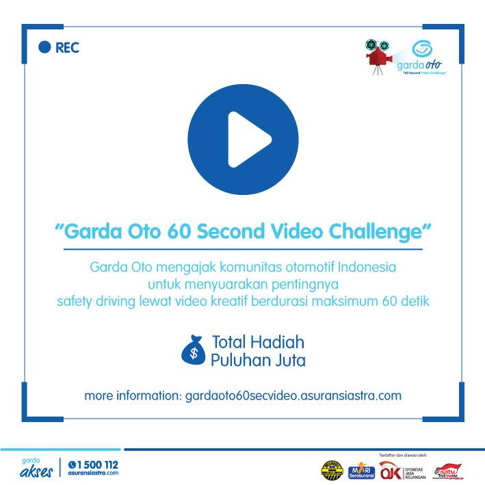 Garda Oto 60 Seconds Video Challenge Tantang Kreativitas Komunitas Otomotif