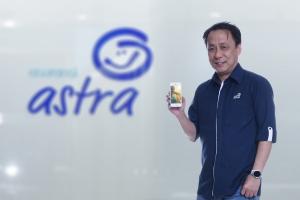 Santosa, CEO Asuransi Astra meluncurkan E-Mikro Special Nebengers melalui akun Twitter resminya, @snt4online