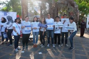 Mahasiswa Yogyakarta Jadi Relawan SWAG Interest Untuk Menjelaskan Pentingnya Pengelolaan Keuangan Sejak Dini