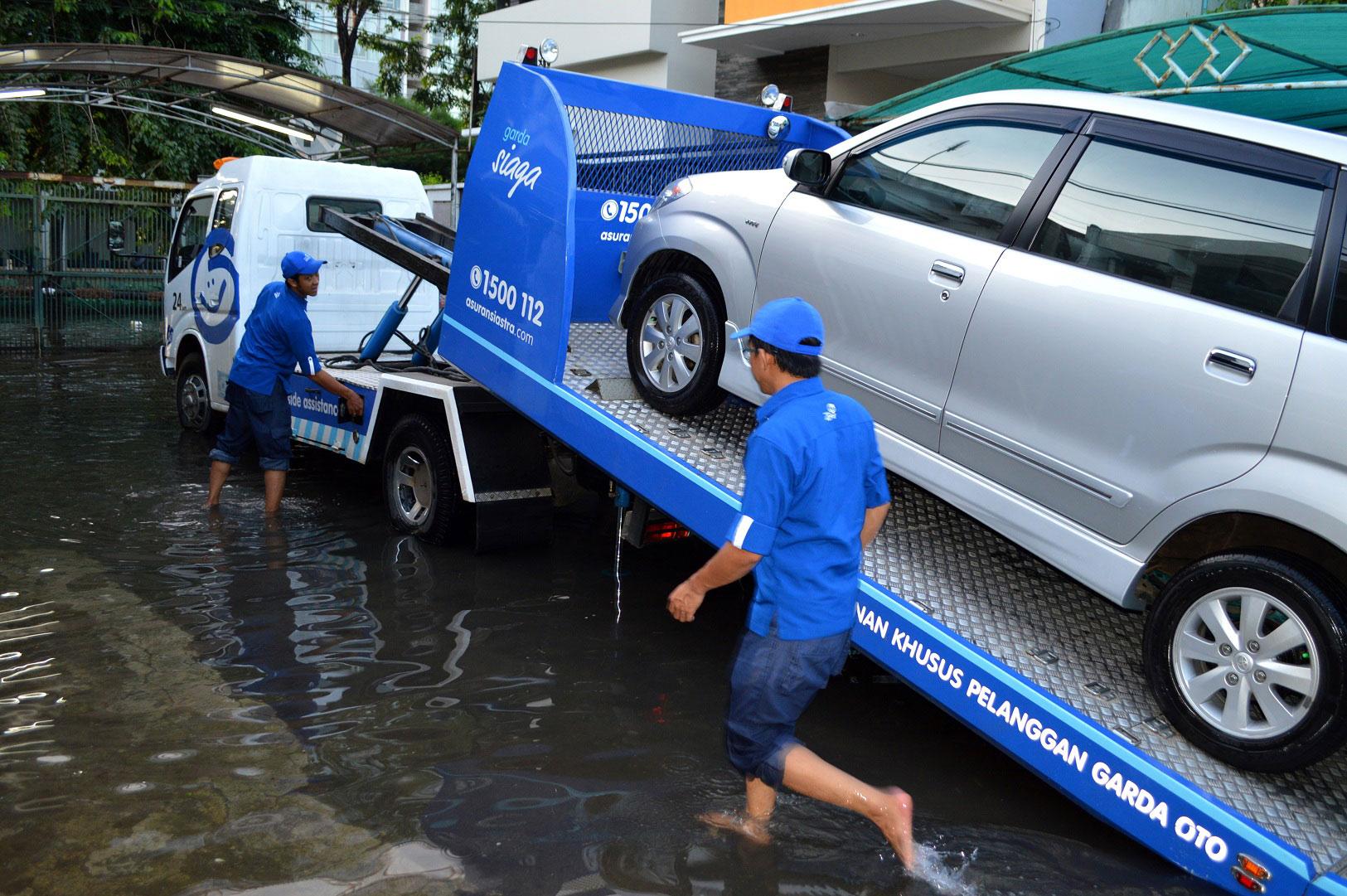 Layanan Garda Siaga saat kondisi banjir