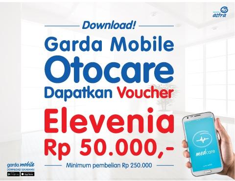 Voucher Elevenia Rp50.000, Khusus Pengguna Baru Otocare & Medcare
