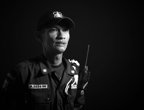M. Dadang, Petugas Satuan Pengamanan