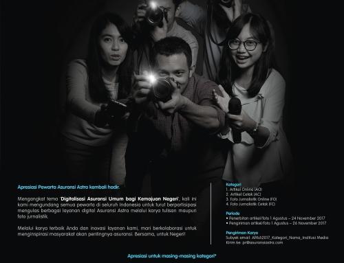 APRESIASI PEWARTA ASURANSI ASTRA 2017 Tantang Jurnalis Berkarya Menginspirasi Negeri