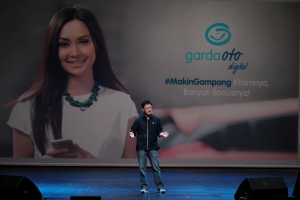 Rudy Chen, CEO Asuransi Astra menjelaskan mengenai Garda Oto Digital yang memliki tagline #MakinGampang Klaimnya, Banyak Bonusnya!