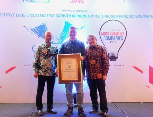 Selalu Kreatif dalam Berinovasi, Garda Oto Dinobatkan Sebagai Indonesia Most Creative Companies 2019