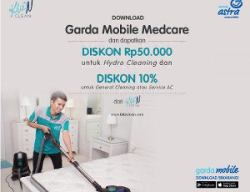 Medcare Promo Diskon Rp 50.000 di KliknClean