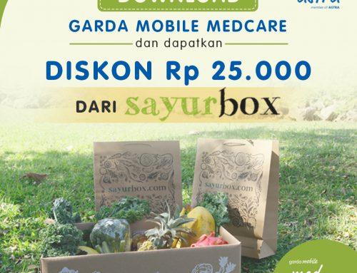Promo Medcare Diskon Rp 25.000 di Sayurbox