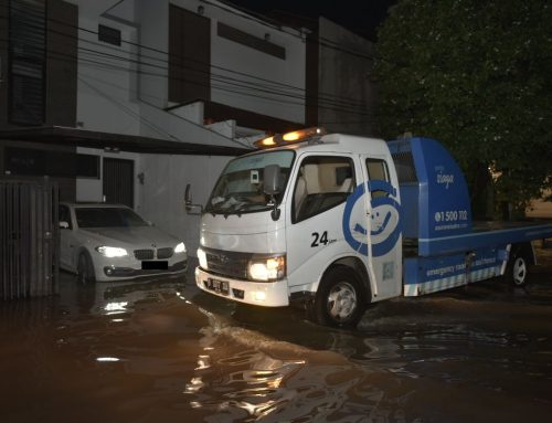 Banjir bebas panik, Garda Oto Siap Layani Pelanggan 24 Jam
