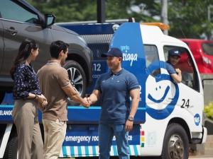 Garda Siaga siap evakuasi mobil pelanggan setiap hari selama 24 jam