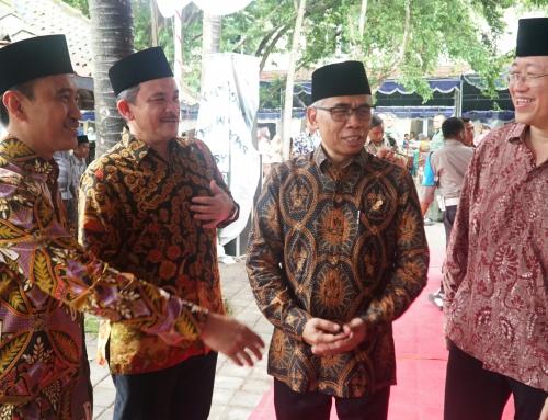 Wapres K.H. Ma'ruf Amin dan Ketua OJK ResmikanBank Wakaf Mikro Astra