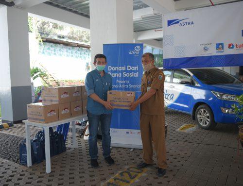 Berbagi Saat Pandemi Asuransi Astra Salurkan Sembako Senilai Rp 2Miliar