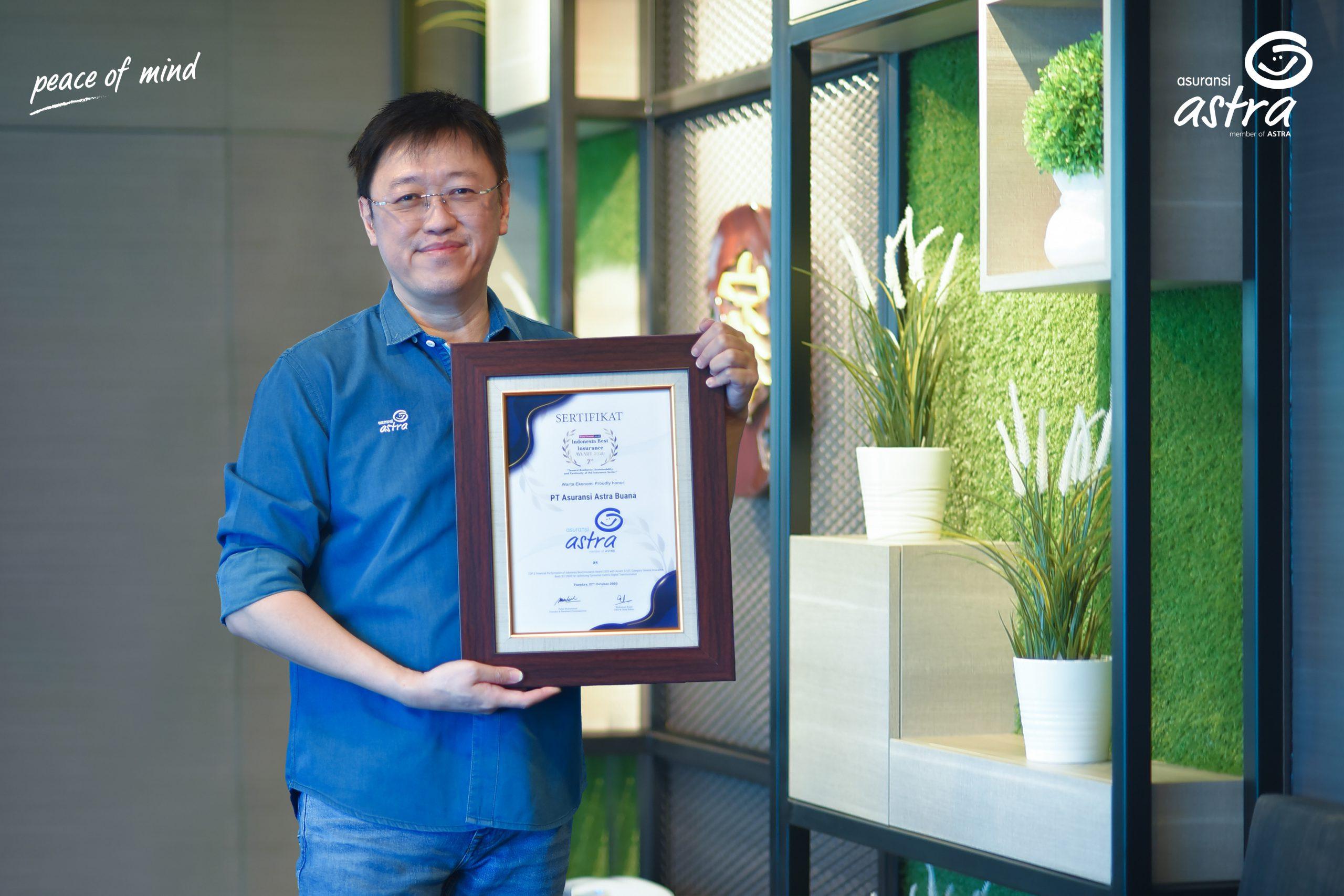 Asuransi Astra Raih Dua Penghargaan Sekaligus dalam Indonesia Best Insurance Award 2020