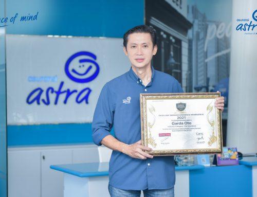 Berkomitmen dalam Memberikan Pelayanan Terbaik, Asuransi Astra Kembali Meraih 2 Penghargaan Sekaligus