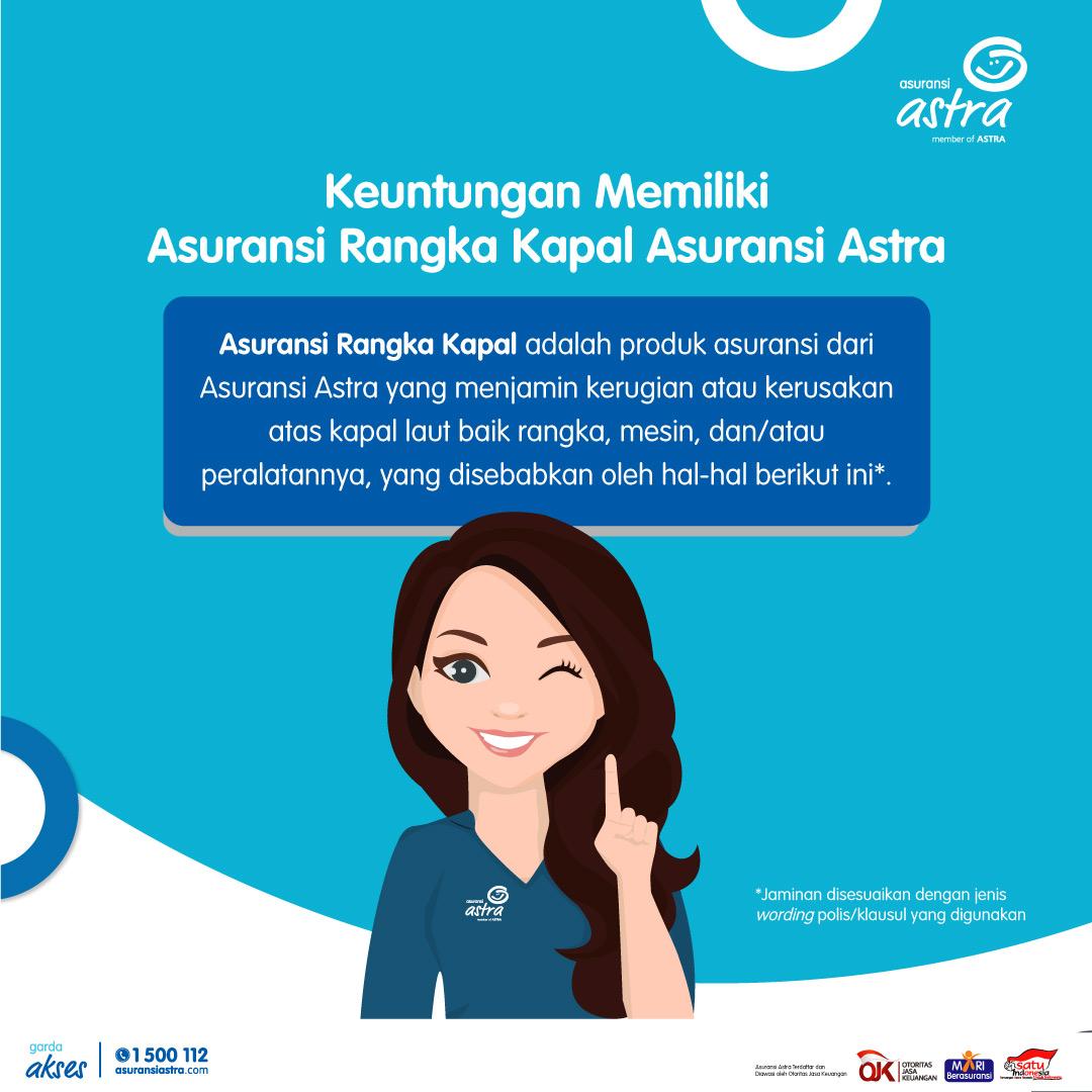 Infografis #POMinfo Asuransi Rangka Kapal