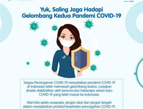 #POMinfo: Yuk, Saling Jaga Hadapi Pandemi Gelombang Kedua Pandemi COVID-19
