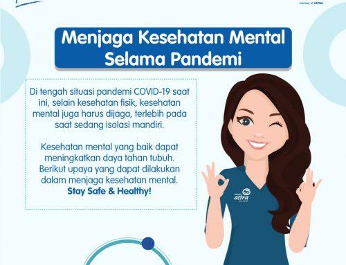 Infografis #POMinfo: Menjaga Kesehatan Mental Selama Pandemi