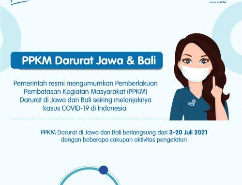 #POMinfo: PPKM Darurat Jawa & Bali