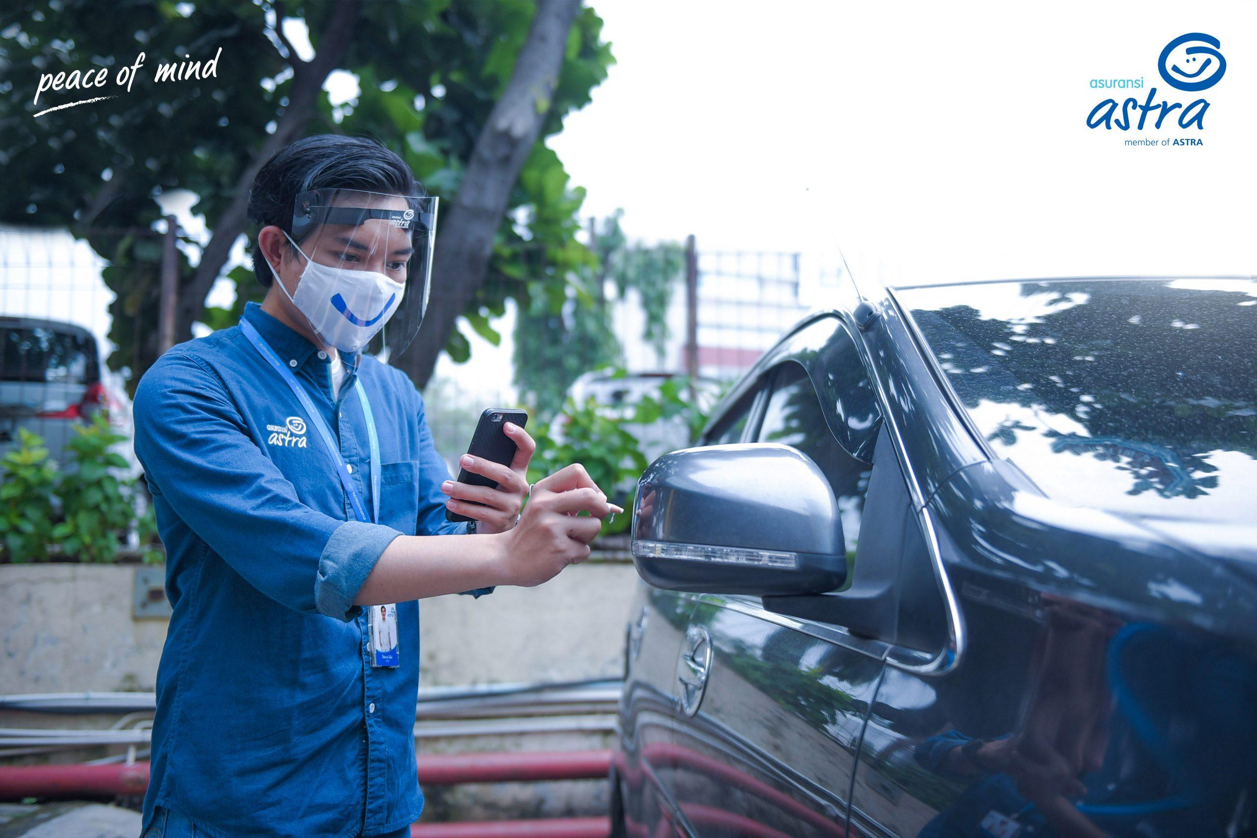 Proses kerja surveyor Asuransi Astra menjadi lebih ringkas dengan adanya Garda Mobile Otosurvey