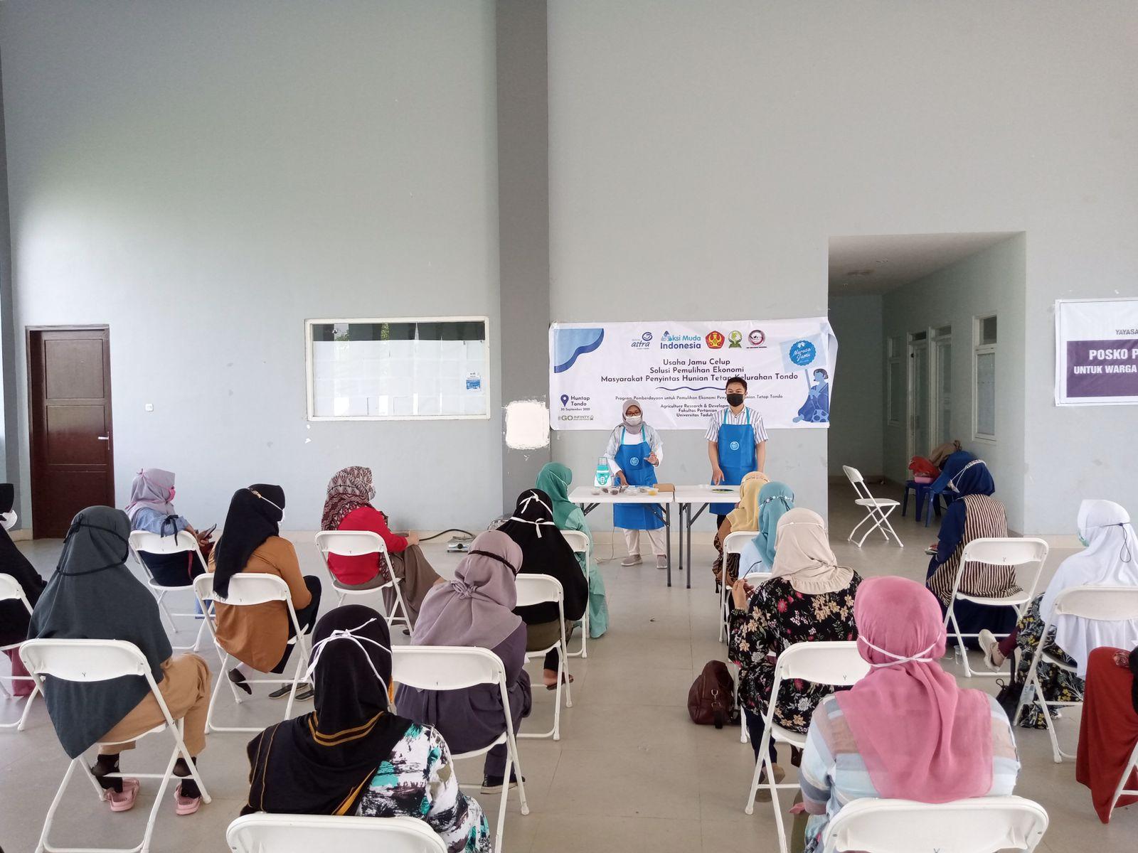 Salah satu finalis AksiMudaIndonesia, mahasiswa perwakilan ARD Universitas Tadulako Palu